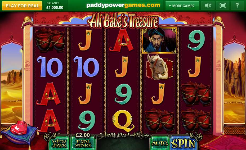Ali Baba's Treasure Slots - Play the Online Slot for Free