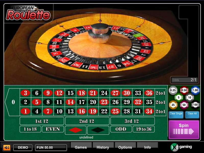 European Roulette by 1x2gaming