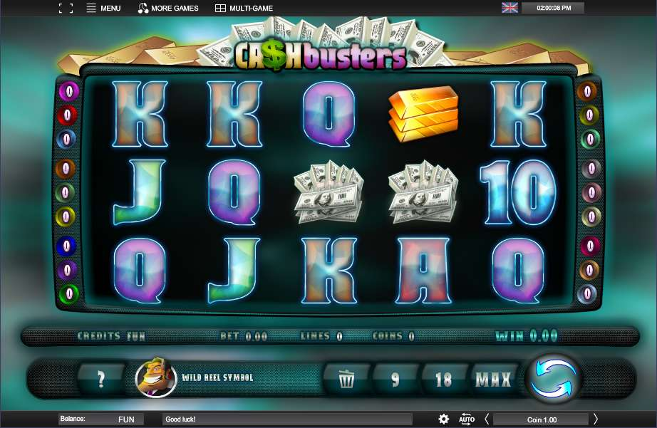 Cash Busters Slot - Play Espresso Games Games for Fun Online
