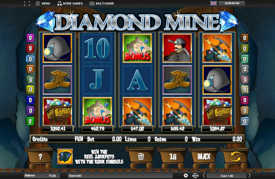 Play Serengeti Diamonds Online With No Registration Required!