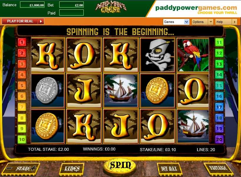 Online dead mans chest openbet casino slots yahtzee
