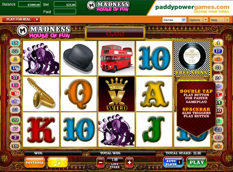 mansion online casino sizzling game