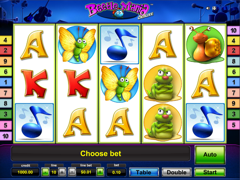 Beetle Star Slots - Free to Play Online Casino Game