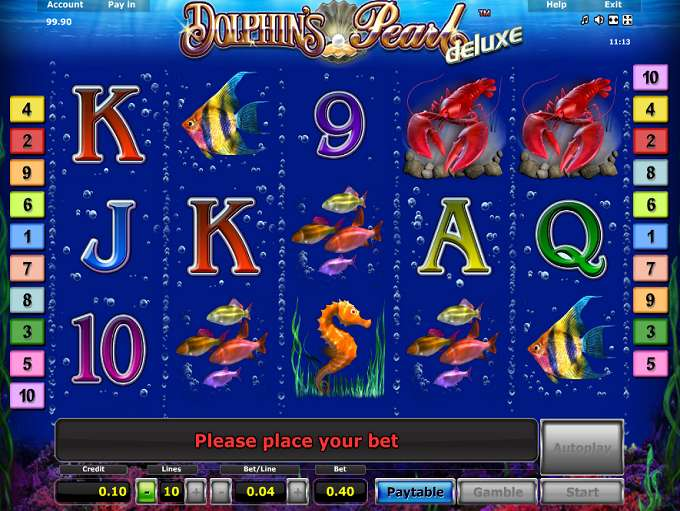 online casino video poker dolphin pearls