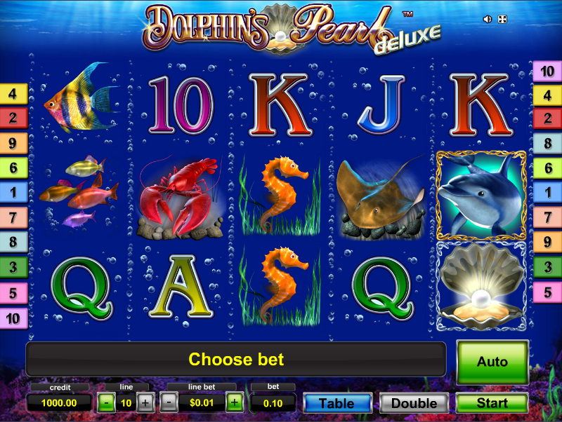 Dolphins Pearl Deluxe Slot – Play This Free Novomatic Game