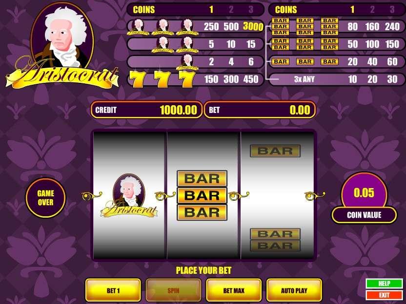 Casino free slot games aristocrat