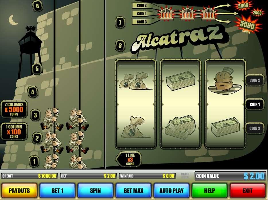 Alcatraz casino games atlantic city casino taj