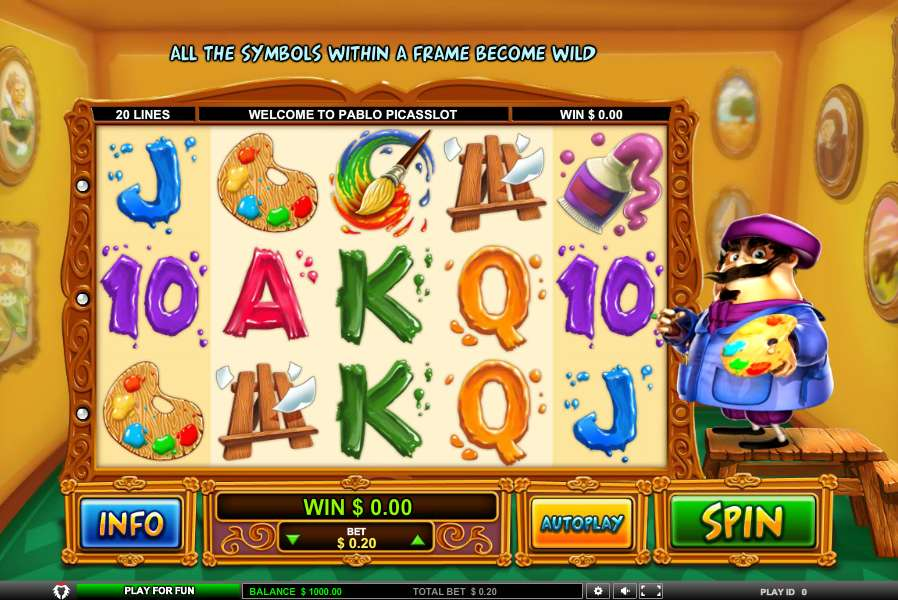 Pablo Picasslot Online Slot Review - Try Online for Free Now