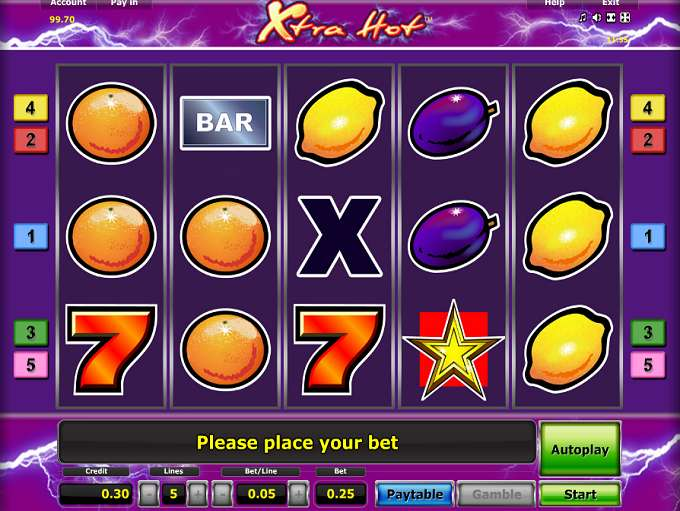 Free Casino Games Xtra Hot