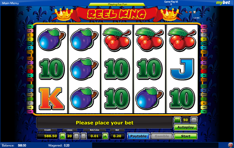 sunmaker online casino reel king