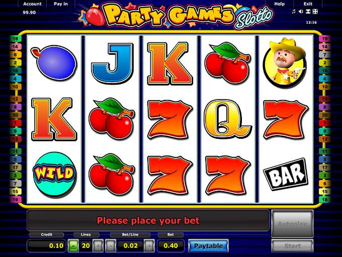 Spiele Party Games Slotto - Video Slots Online