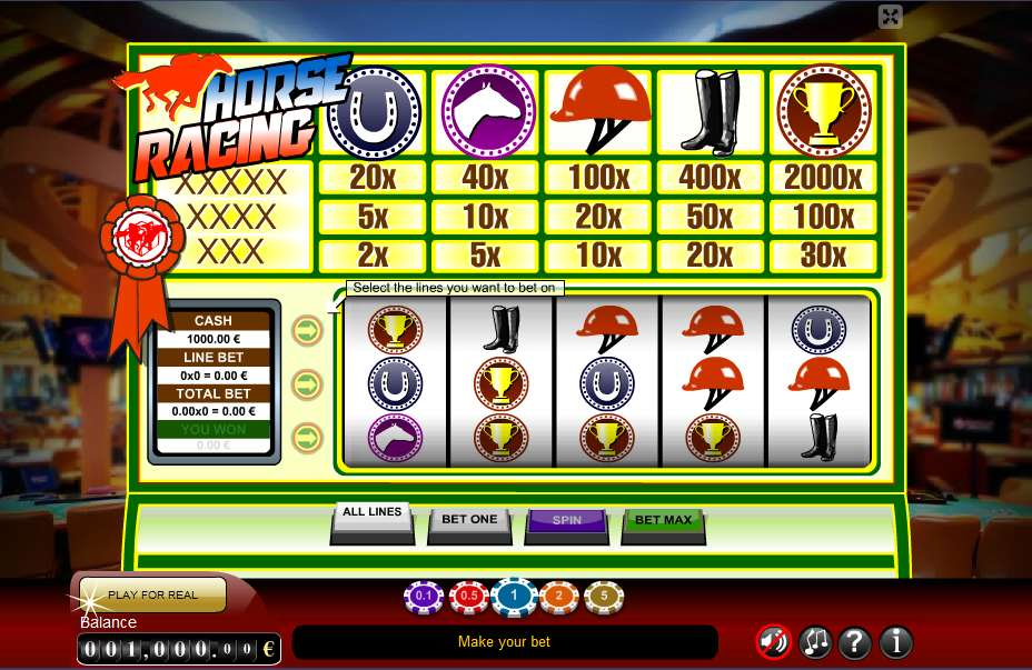 About Horse Racing Video Slot