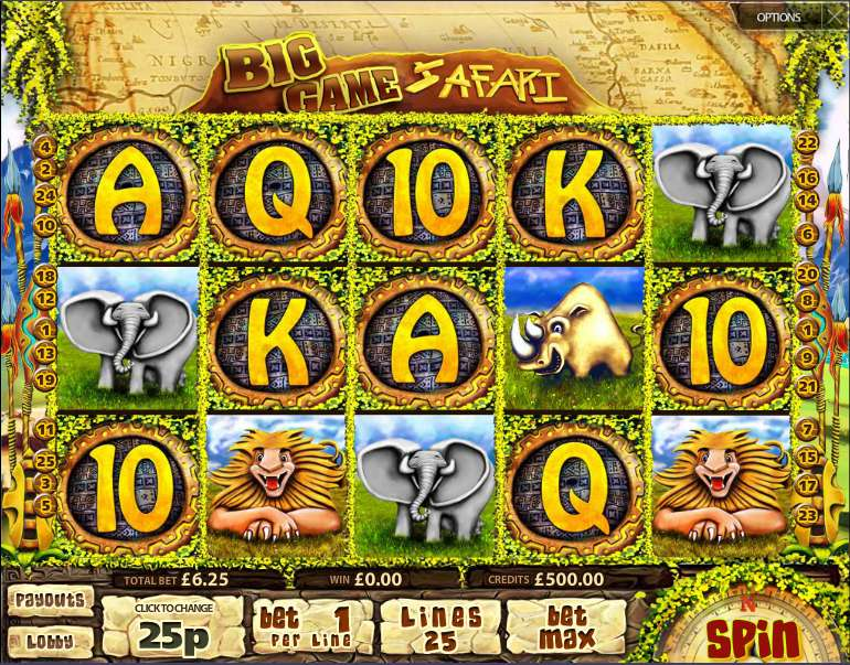About Big Game Safari Slot The casino solution provider – Multislot – is responsible for the development of Big Game Safari.This is a video slot game for desktop and mobile gaming which is themed on the obvious judging by the title – the Archetypal Big Game Safari/5.Gördes