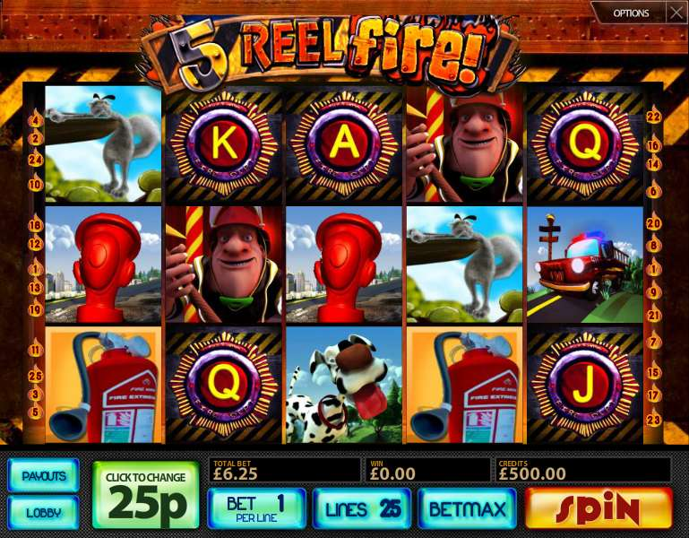 Play Thunder Reels online with no registration required!