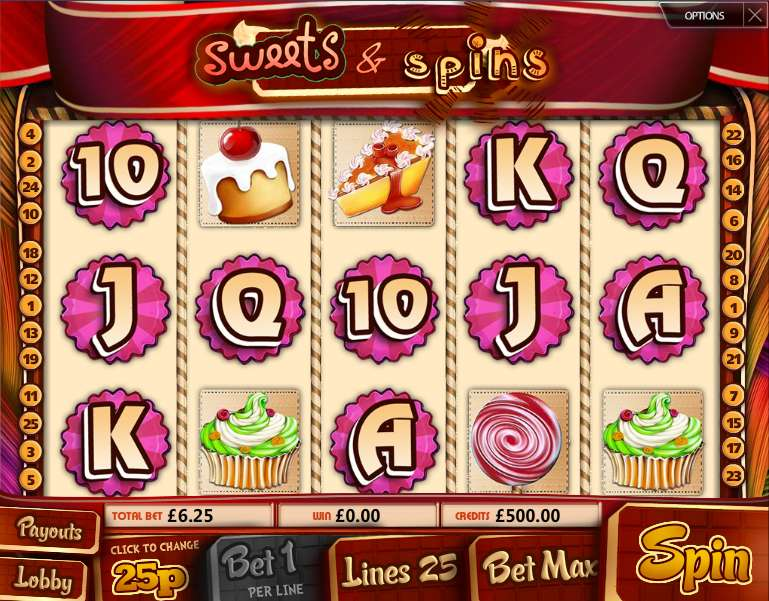 Sweets & Spins by Multi Slot Casinos