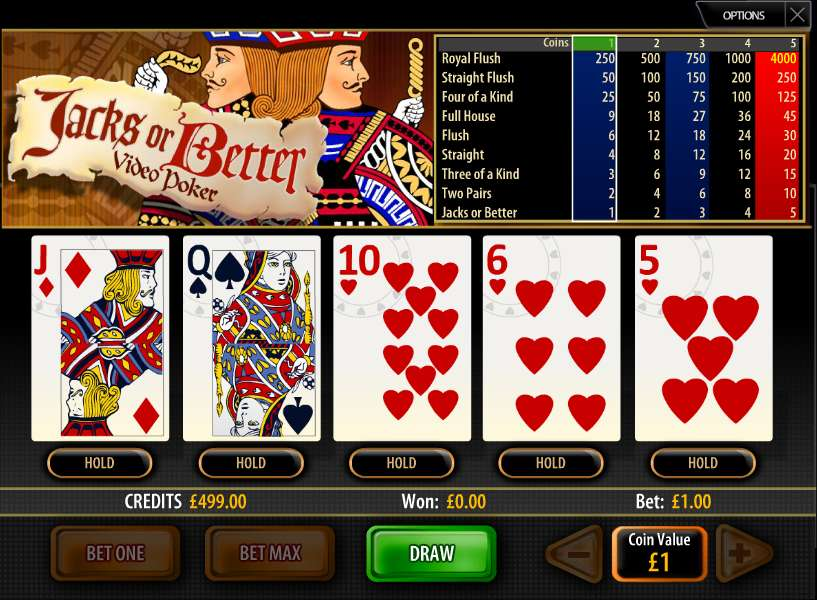 Jacks or Better by Multi Slot Casinos