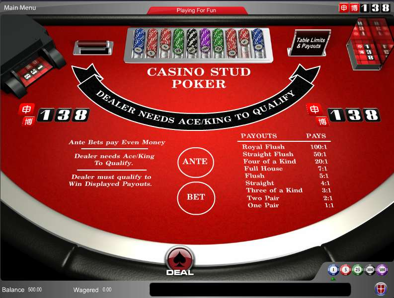 Casino andorra poker
