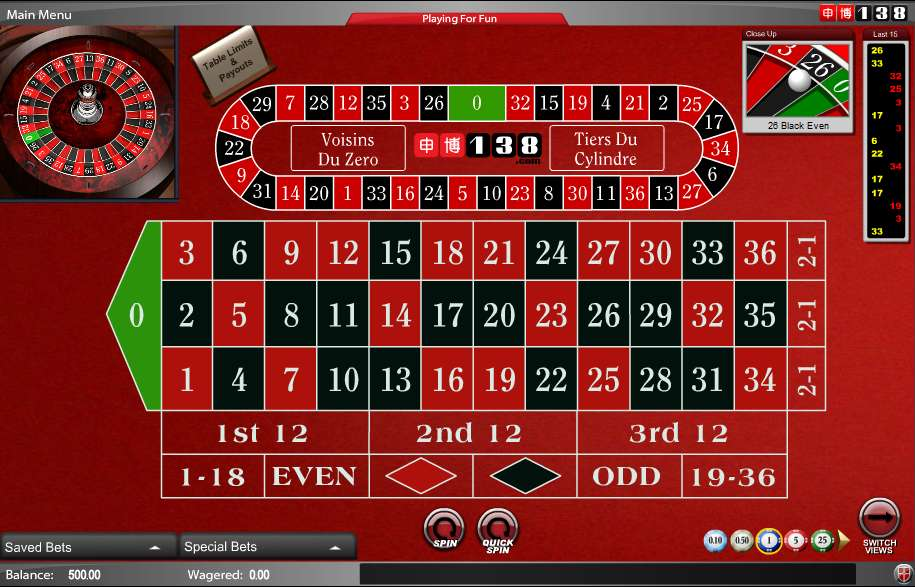 free roulette casino game download