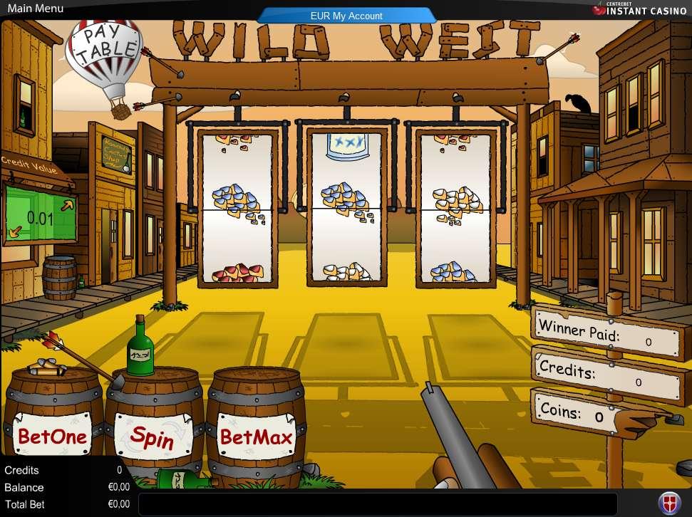 play online casino wild west spiele