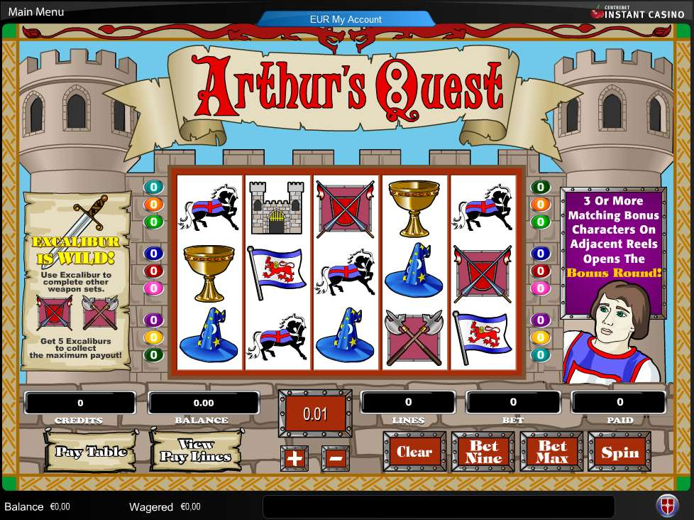 Arthur's Quest by Amaya