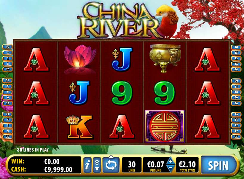 China River™ Slot Machine Game to Play Free in Ballys Online Casinos