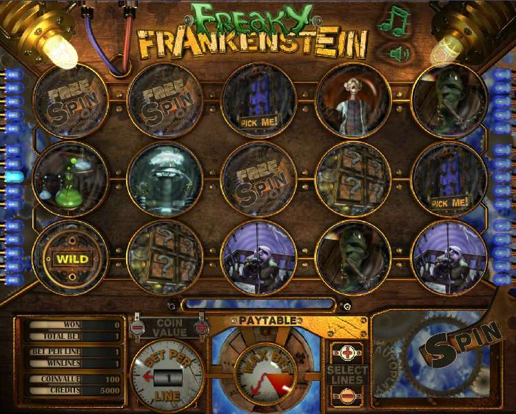 Freaky Frankenstein by The Art Of Games