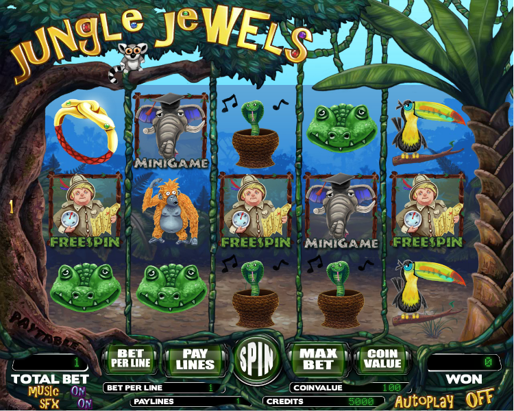 Jungle Books Slot - Play Online for Free Instantly Now