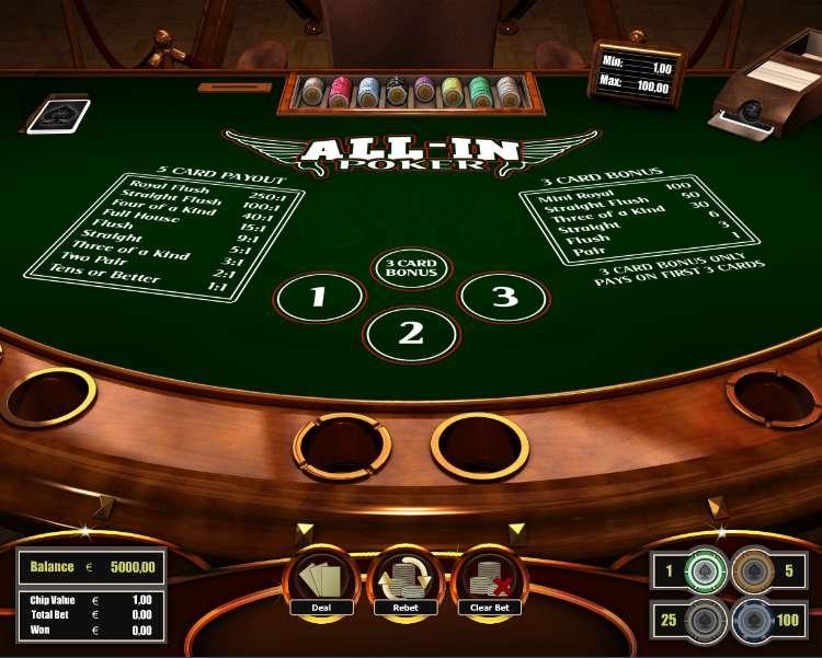 Allin Poker