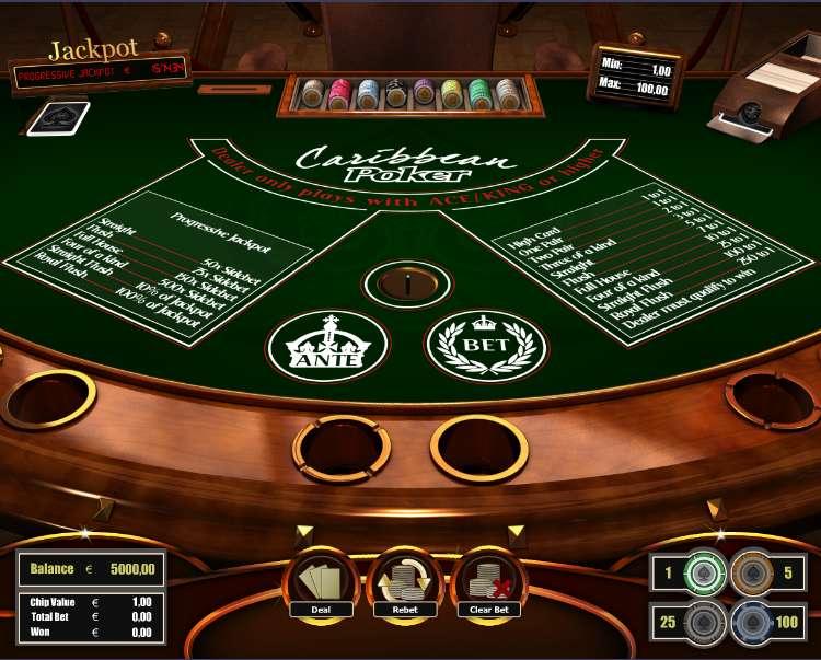 casino free movie online caribbean stud