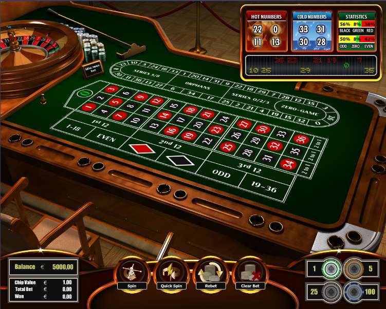 European Roulette by The Art Of Games