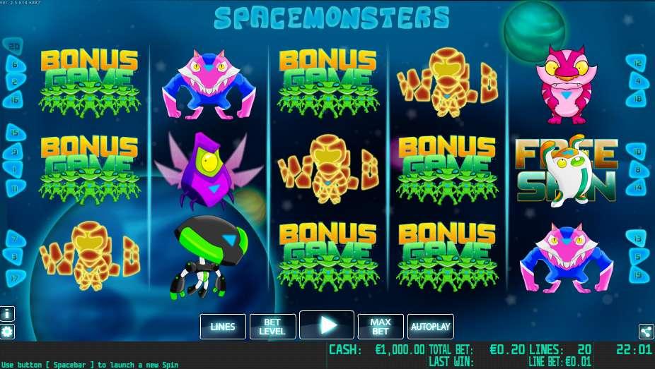 Space Monsters Slots - Play Free Casino Slots Online