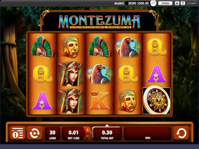 Montezuma Slots - Free Slot Machine Game - Play Now