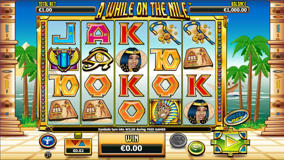 Spiele A While On The Nile - Video Slots Online