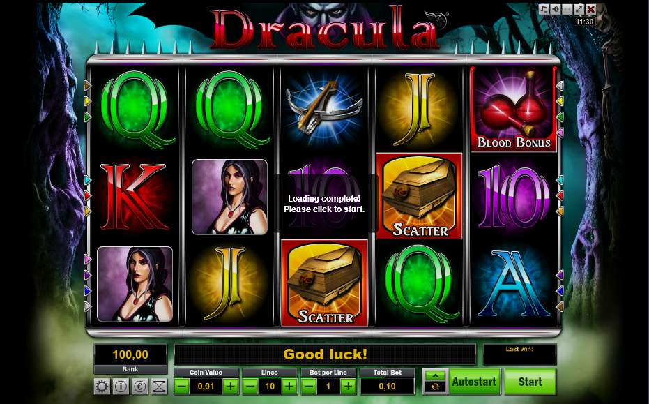 video slots online dracula spiel