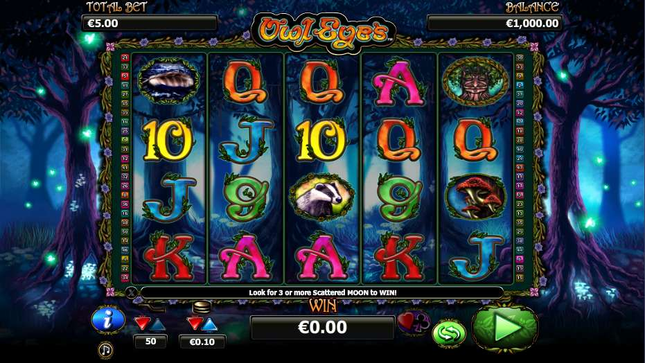 Spiele Owl Eyes - Video Slots Online