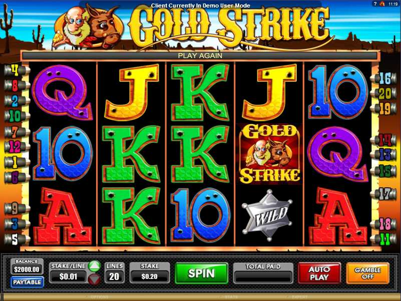 Gold Strike Online Game