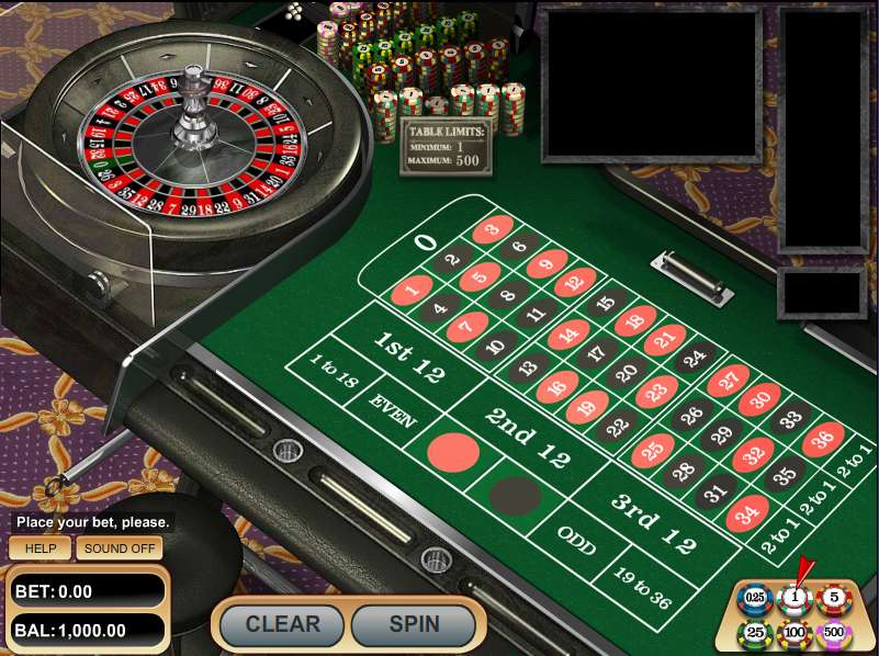 Play Free Roulette Game Online