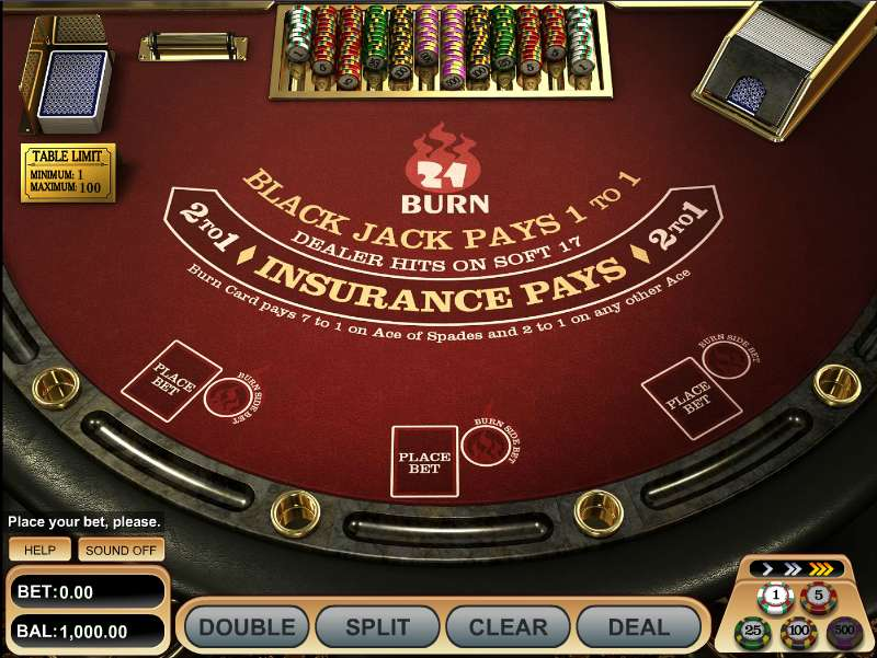 21 Burn Blackjack - Play the Free Casino Game Online