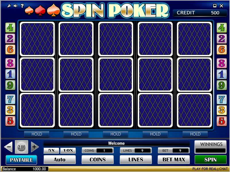 Spin Poker Free Online