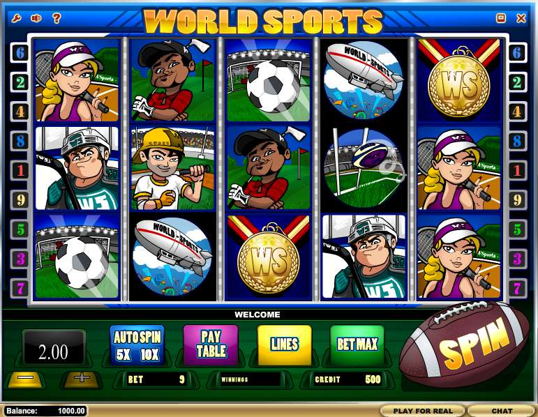 World Sports by iSoftBet
