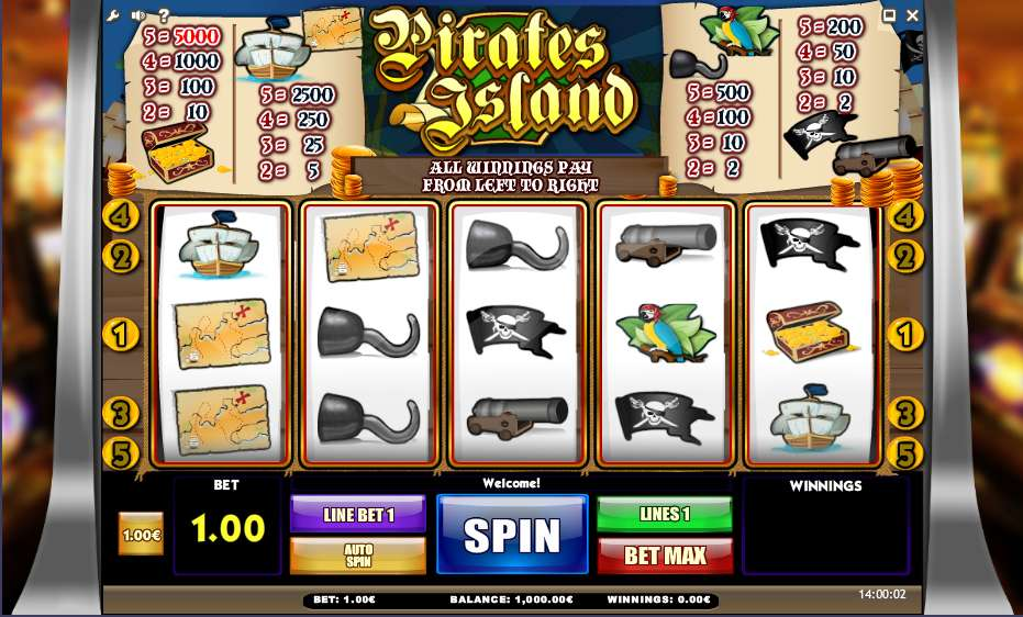 Pirate Island Slots - Play Free Casino Slots Online