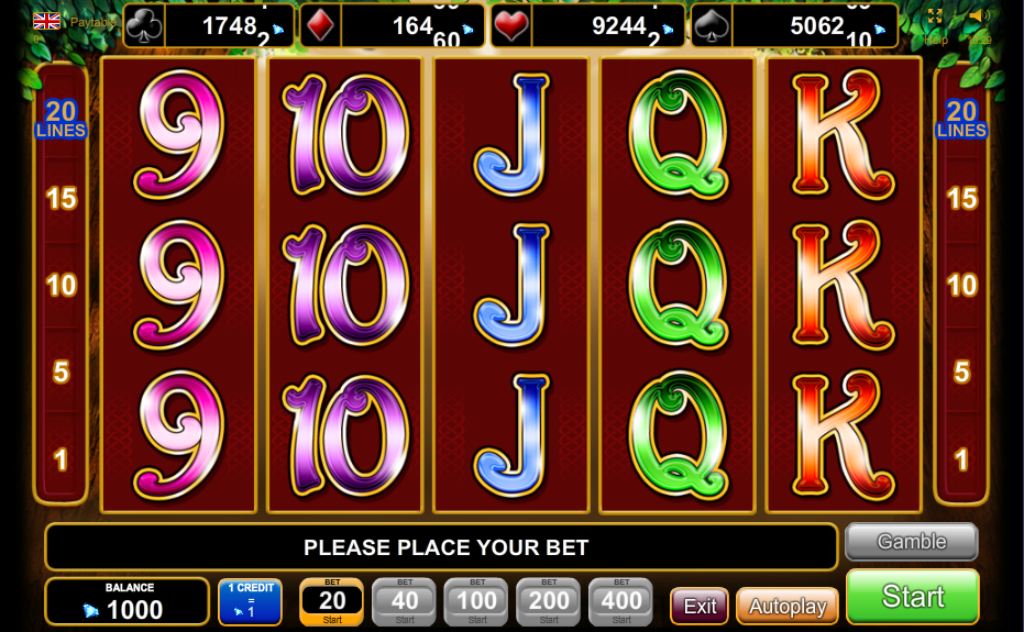 play online casino slots book of raa
