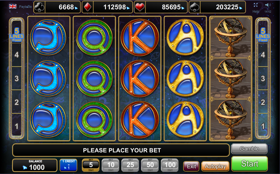 Lucky Zodiac Slots - Free Online Casino Game by Amatic