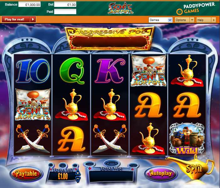 Bow genie jackpots megaways blueprint casino slots gold