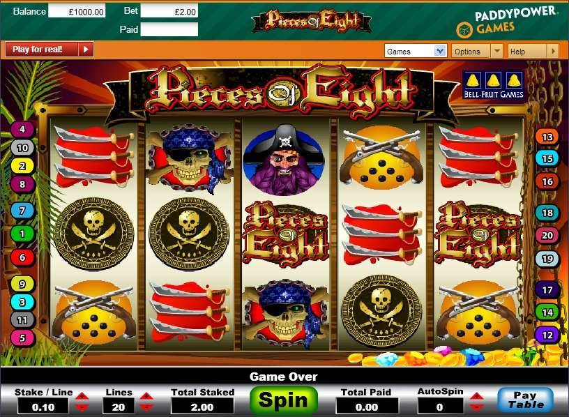 Pieces Of Eight Game