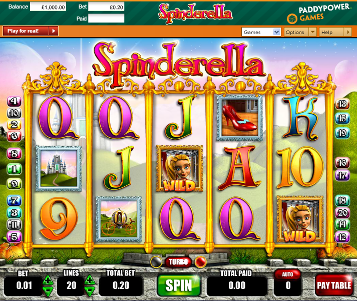 casino games online spinderella