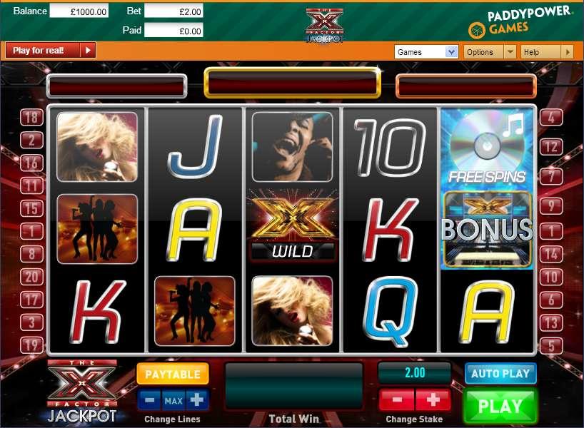 X Factor Jackpot Slot - Play Free Ash Gaming Games Online