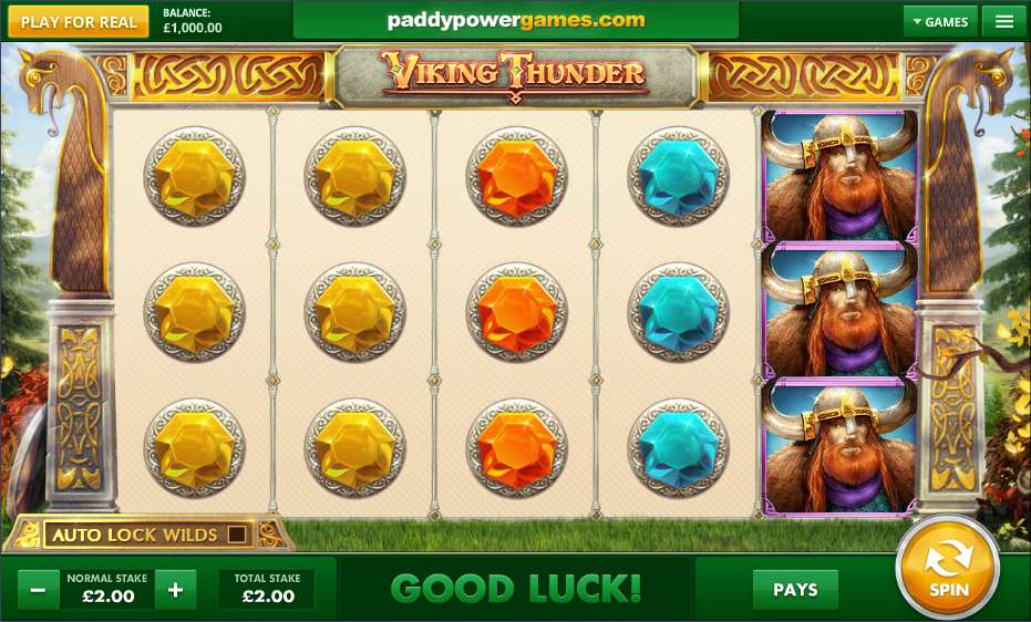 Viking Thunder Slots - Play this Game for Free Online