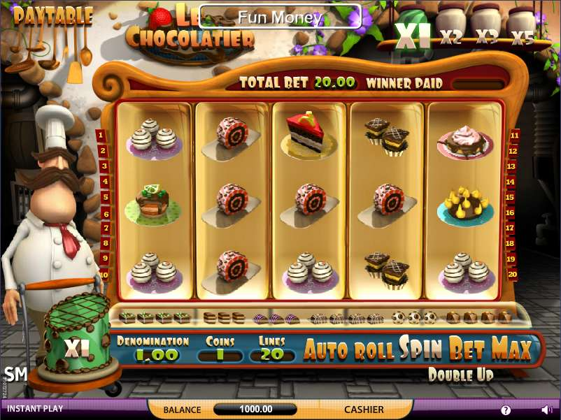 Le Chocolatier™ Slot Machine Game to Play Free in Saucifys Online Casinos
