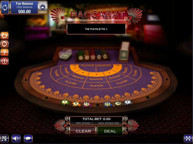 VIP Multihand Baccarat by GamesOS